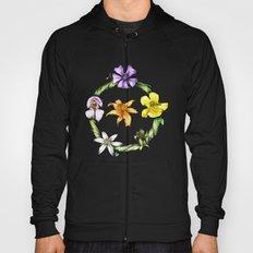 Garland of flowers Hoody