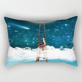 Reach for the Moon v2 Rectangular Pillow
