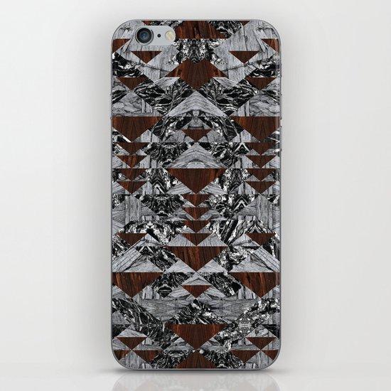 Wood Galaxy iPhone & iPod Skin
