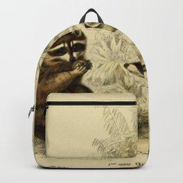 Naturalist Raccoons Backpack