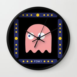 Pinky is Here! Wall Clock