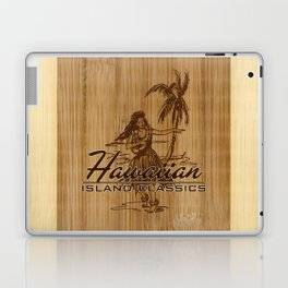 Tradewinds Hawaiian Island Hula Girl Laptop & iPad Skin