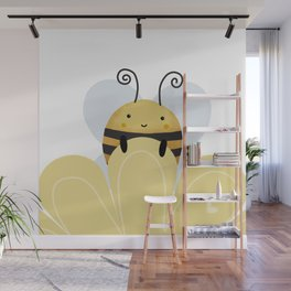 Honey bee Wall Mural