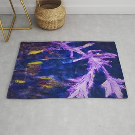 Autumn Blue Pastoral by Christian Rohlfs Rug