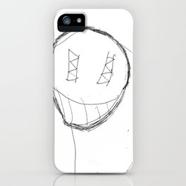Scary Guy iPhone Case