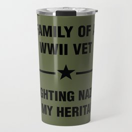 WWII Family Heritage Travel Mug