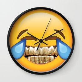 Tears Of Fortified Joy Wall Clock