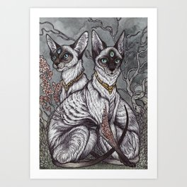 Gift of Sight art print Art Print