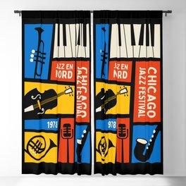 Jazz Festival | Bauhaus V Blackout Curtain