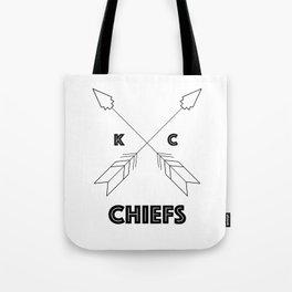 Chiefs Arrowhead Tote Bag