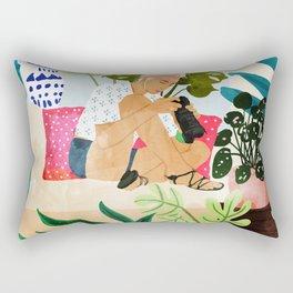 Miss Blogger Rectangular Pillow