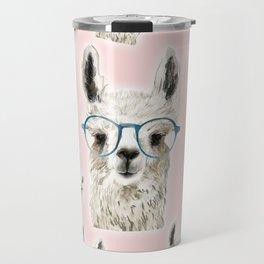 Lama Pattern Travel Mug
