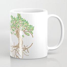 Rope Tree of Life. Rope Dojo 2017 white background Coffee Mug