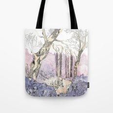 1/3 Magic Feral Woods Tote Bag