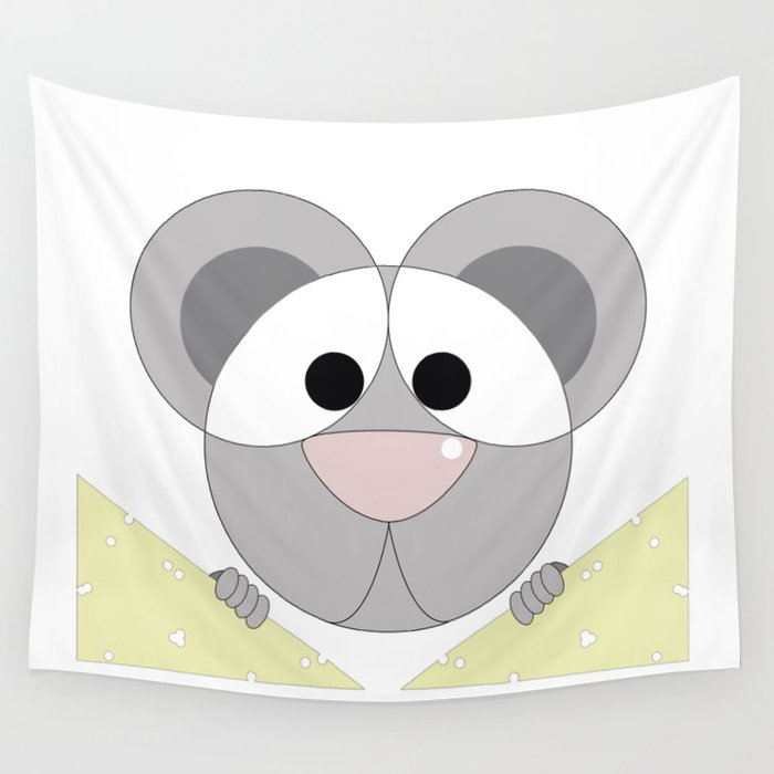 Mouse Wall Tapestry