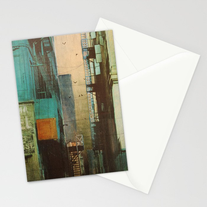 ESCAPE ROUTE Stationery Cards