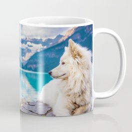 Wolf in Paradise (Color) Coffee Mug