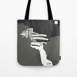 Frank Lloyd Wright/ Falling Water Housr Tote Bag