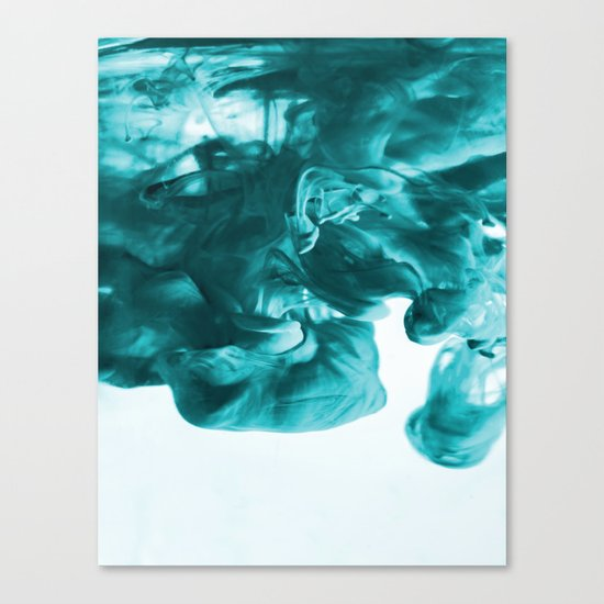 Cayan Ink Canvas Print