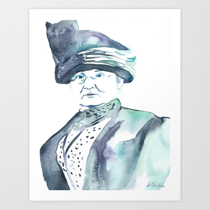 Mother Jones Art Print