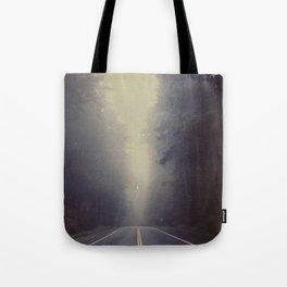 Long Road, Redwoods National Park. Instant Film Tote Bag