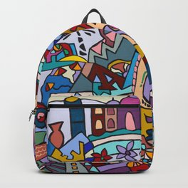 Hello-Goodbye-Peace Backpack