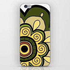 Flower 12 iPhone & iPod Skin