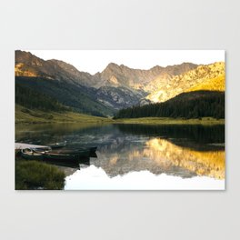 Its the little things, Piney Lake Colorado Canvas Print