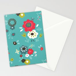 Butterfly floral Stationery Cards