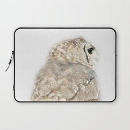 owl back view Laptop Sleeve