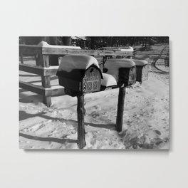 mailboxes II Metal Print