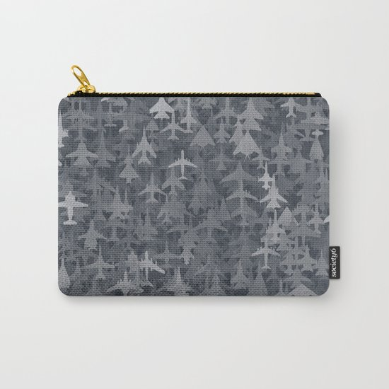 Airplanes camouflage Carry-All Pouch