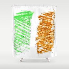 flag of ireland 10 -ireland,eire,airlann,irish,gaelic,eriu,celtic,dublin,belfast,joyce,beckett Shower Curtain