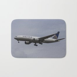 United airlines Boeing 777 Bath Mat