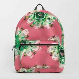 Emerald Lace Rose Backpack