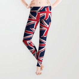 Union Jack Flags Leggings