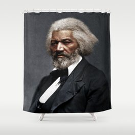 Frederick Douglass Shower Curtain