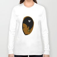 afro Long Sleeve T-shirts featuring AFRO  by Robleedesigns