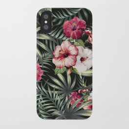 Tropical leave pattern 11.1 iPhone Case