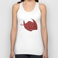 smaug Tank Tops featuring Baby Smaug - Textless by Kinsei