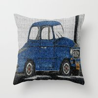 cuba Throw Pillows featuring Cuba Car by Sartoris ART