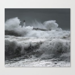 Winter Nor'Easter Canvas Print