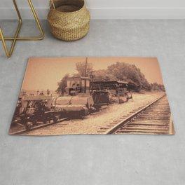 Old Railroad Relic II Rug