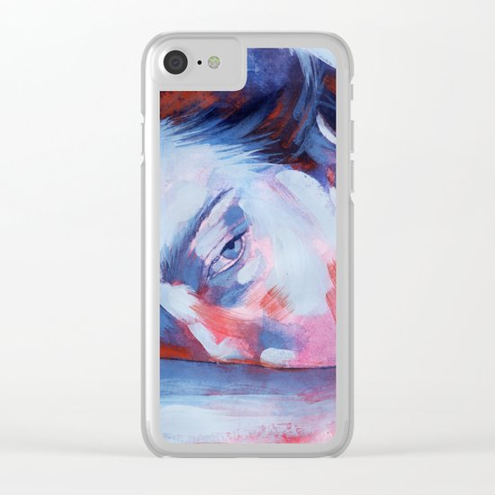 When there's no place for love Clear iPhone Case