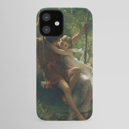 Springtime by Pierre-Auguste Cot 1873, French iPhone Case