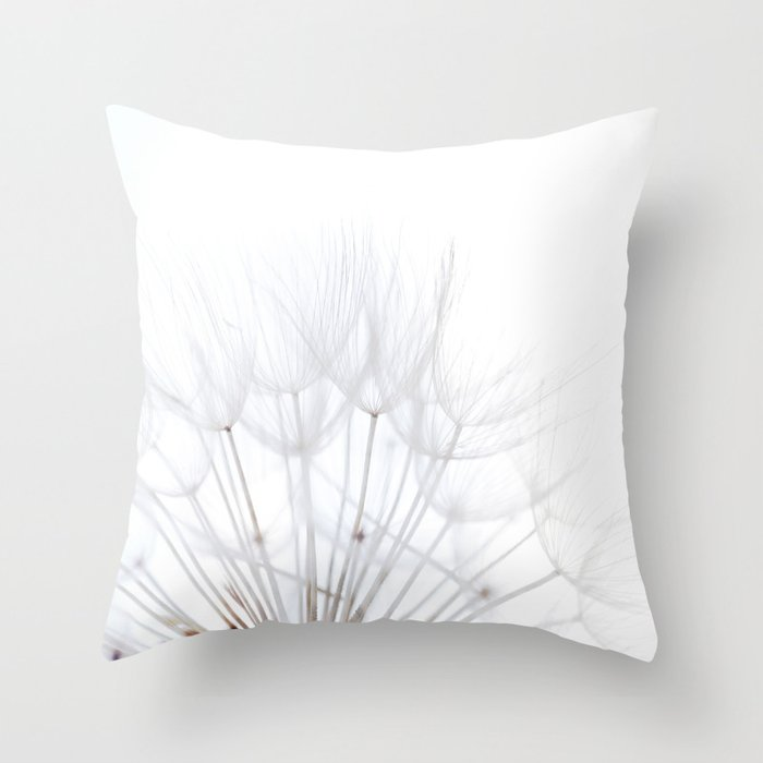 Dandelion * make a wish Throw Pillow