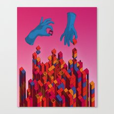 Solution for Blocks Canvas Print