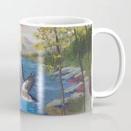 wood duck lake Coffee Mug