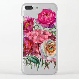 Flower garden V Clear iPhone Case