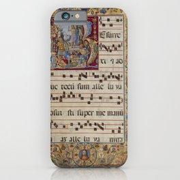 Antonio da Monza - Initial R- The Resurrection (1600) iPhone Case